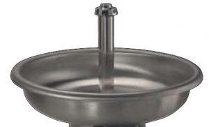 LX1600 Lavabo circulaire en acier inoxydable, uniquement baignoire diam.1000x250 mm