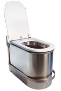 LX3120 WC antiallagamento con serranda di non ritorno con blocco sicurezza 600x340x420 mm