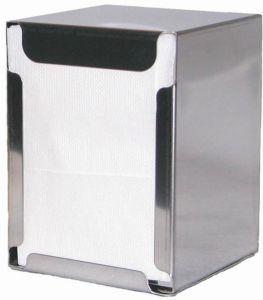ITP1315 Portatovaglioli da tavolo e banco - tovaglioli piegati 17x17 cm