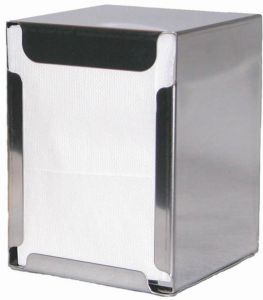 ITP1315 Table and table napkin holder - folded napkins 17x17 cm