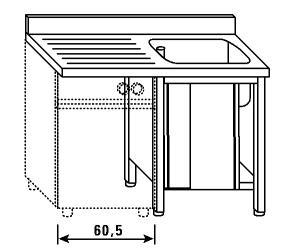 LT1181 Laver le garde-robe pour lave-vaisselle