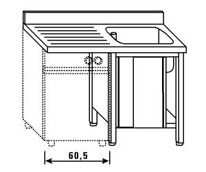 LT1189 Wash on wardrobe for dishwashers